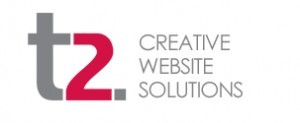 t2 creative website solutions Logo