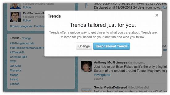 Trending Topics Twitter
