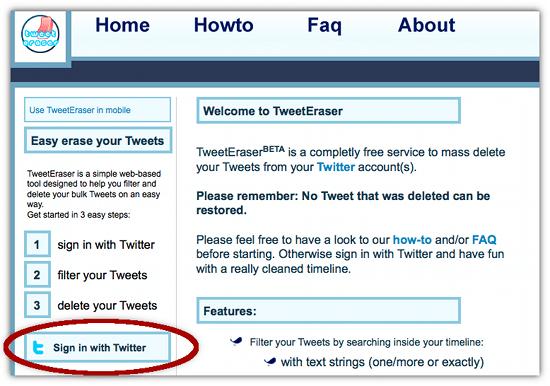 delete tweets in bulk