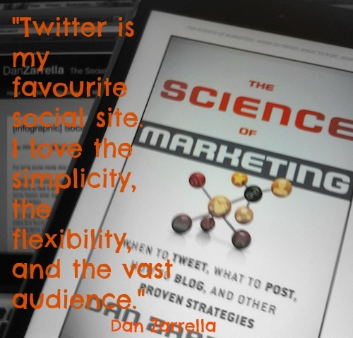8 Twitter Take Aways From Dan Zarrella's Science Of Marketing – Book Review