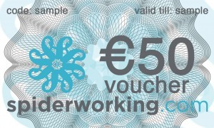 Twitter Competiton – Win a €50 Spiderworking.com voucher