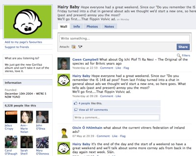 3 Great Irish Facebook Pages