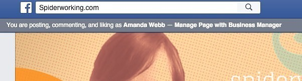 Business page managers should search from their personal accounts.