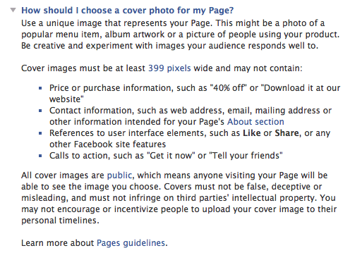 Everything You Need To Know About Images For The New Facebook Pages