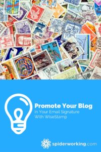 showcase your latest blog posts in your email signature with wisestamp