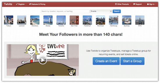 Cool Tool – Promote your event on Twitter with Twtvite