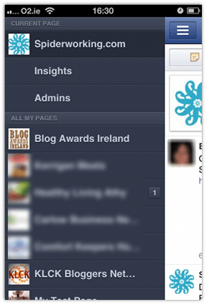 Manage Facebook Pages On The Go with New Mobile App