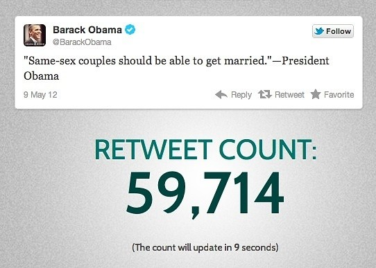 Barack Obama ReTweets