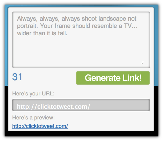 Make It Easy For People To Share Your Content With Clicktotweet on Tool Could Make Working In Your Room Easy And