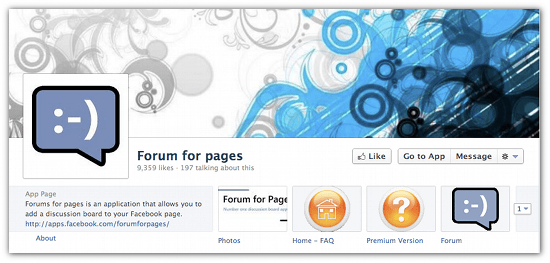 Add A Discussions Tab To Your Facebook Page With Facebook Forum