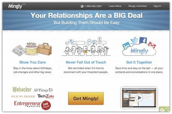 Use Mingly To Keep Your Business Relationships Alive