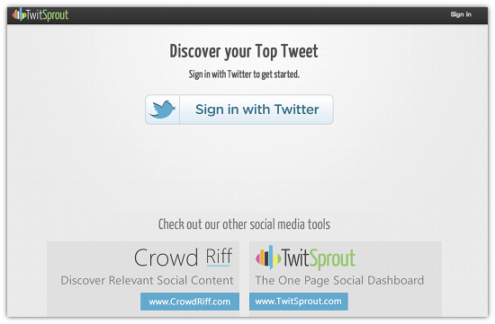 What Was Your Most RT'd Tweet?  MyTopTweet Tells You – Cool Tool