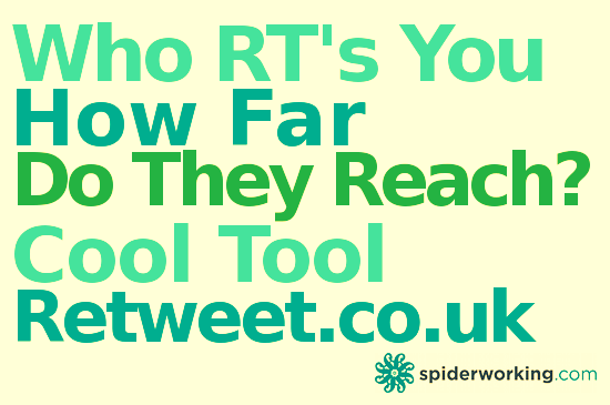 Who Retweets You And How Far Do They Reach? – Find Out With Retweet – Cool Tool
