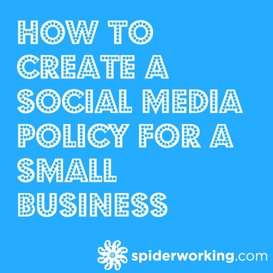 How To Create A Social Media Policy For A Small Business