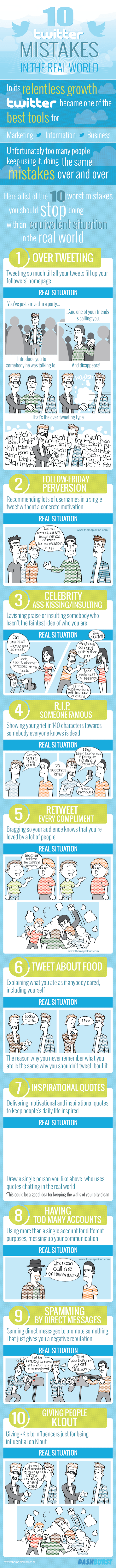 Delight Your Customers, Twitter Mistakes And More - The Social 7