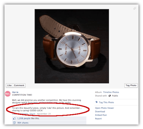 4 Facebook Timeline Competition Examples The Good, The Bad And The Cheeky
