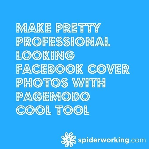 Make Pretty Professional Looking Facebook Cover Photos With Pagemodo – Cool Tool