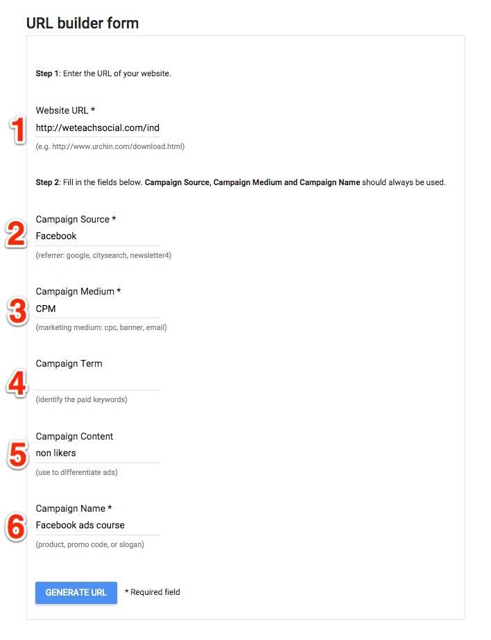 Google URL Builder 2
