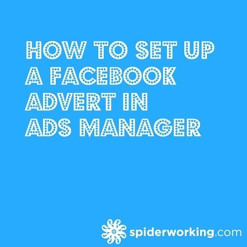 How To Set Up A Facebook Advert in Facebook Ads Manager