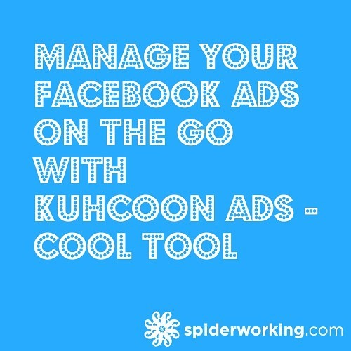 Manage your Facebook Ads On The Go with Kuhcoon Ads – Cool Tool