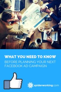 How to plan your Facebook Advertising campaign