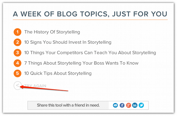 Write Blog Titles & Get Inspiration With Hubspot's Blog Topic Generator - Cool Tool