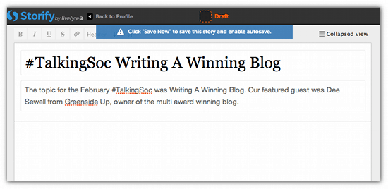 How To Tell Your Twitter Stories With Storify - Cool Tool