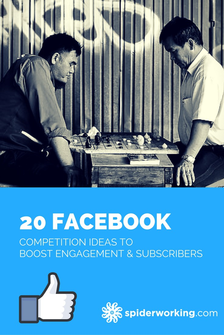 20 Facebook Competition Ideas To Boost Engagement And Subscribers. If you are looking for inspiration for your Facebook competition, look no further. #AmandasFacebookTips #facebookcompetition #facebookcompetitionideas #facebookmarketing #facebooktips