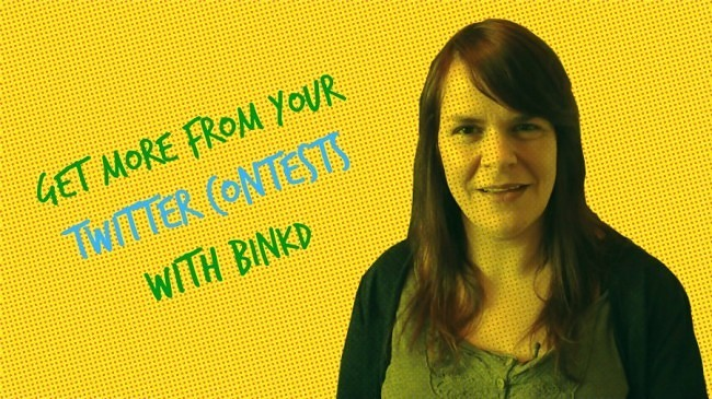Get more from your Twitter contests with Binkd