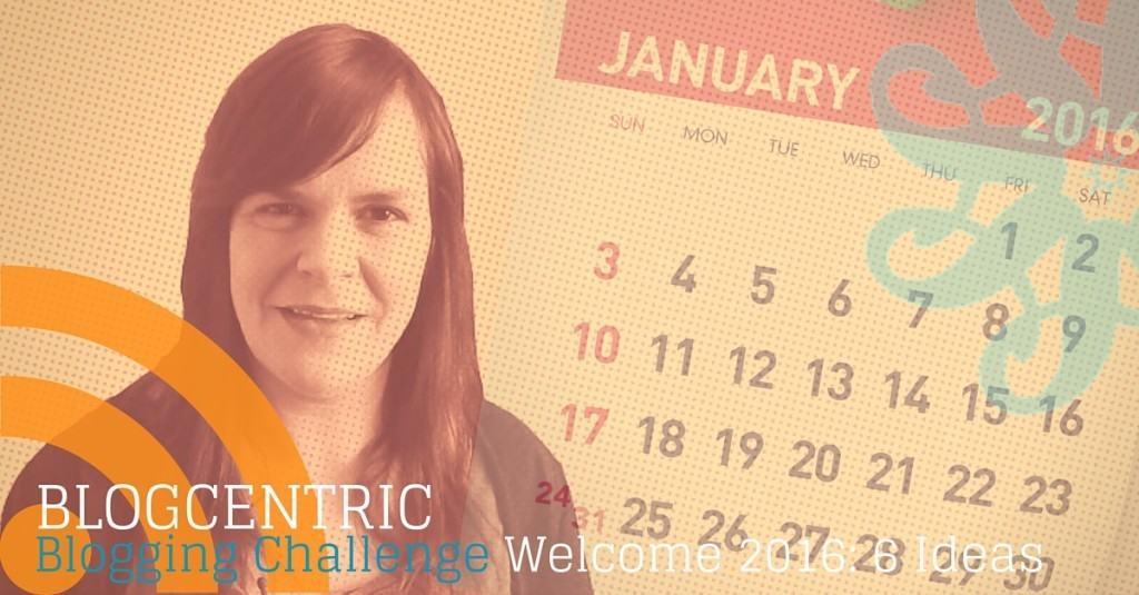 Blogging challenge welcome 2016
