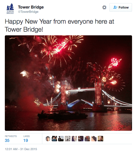 new years twitter scheduling disaster