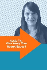 Will Sharing Your Expertise Lose You Customers?