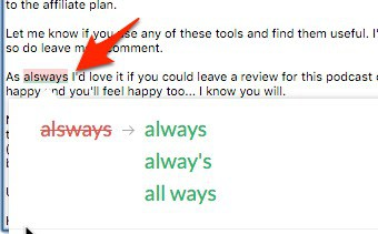 grammarly blogging tools