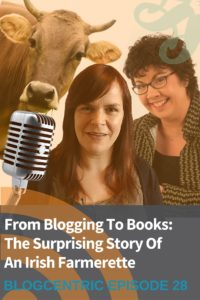 Blogging for writers. How one Irish Farmer turned her blog into a career