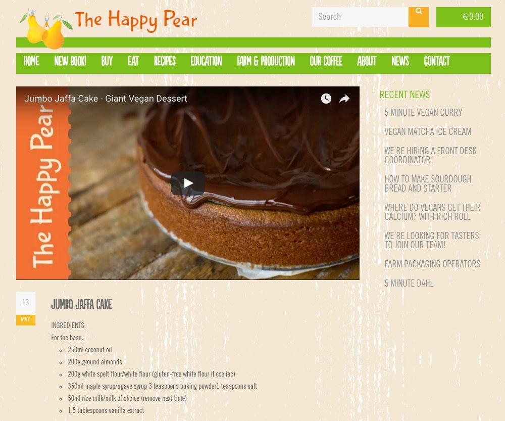 blog topics jaffa cakes