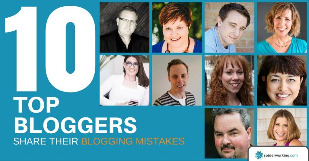 blogging mistakes from 10 top bloggers