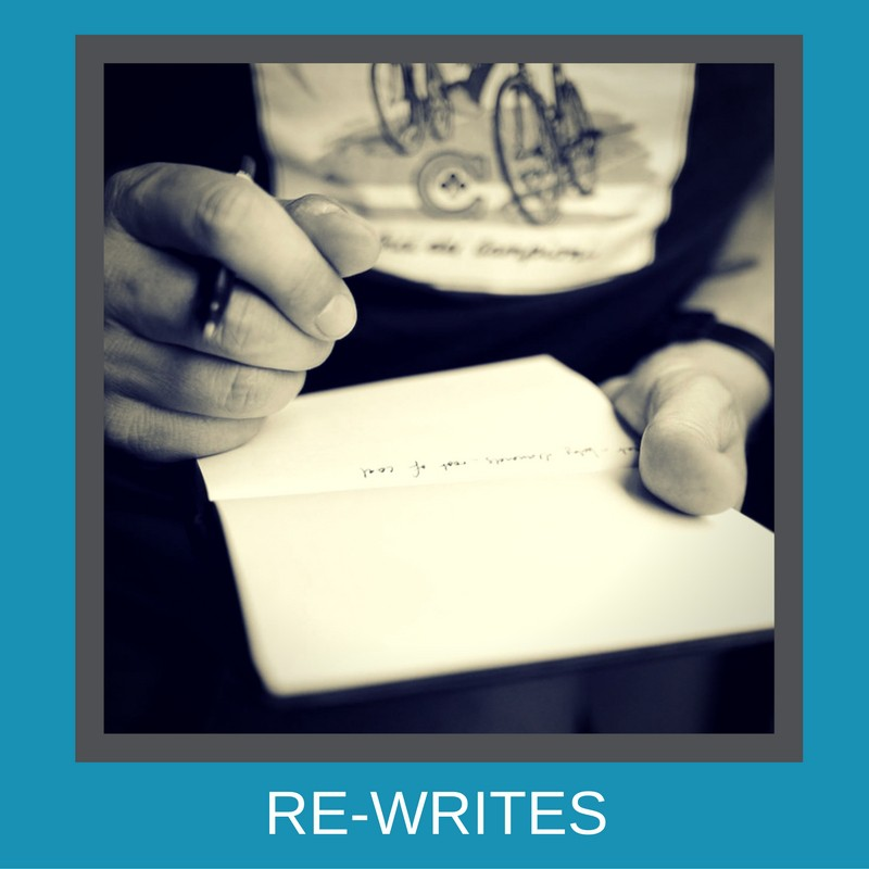 What needs a rewrite?