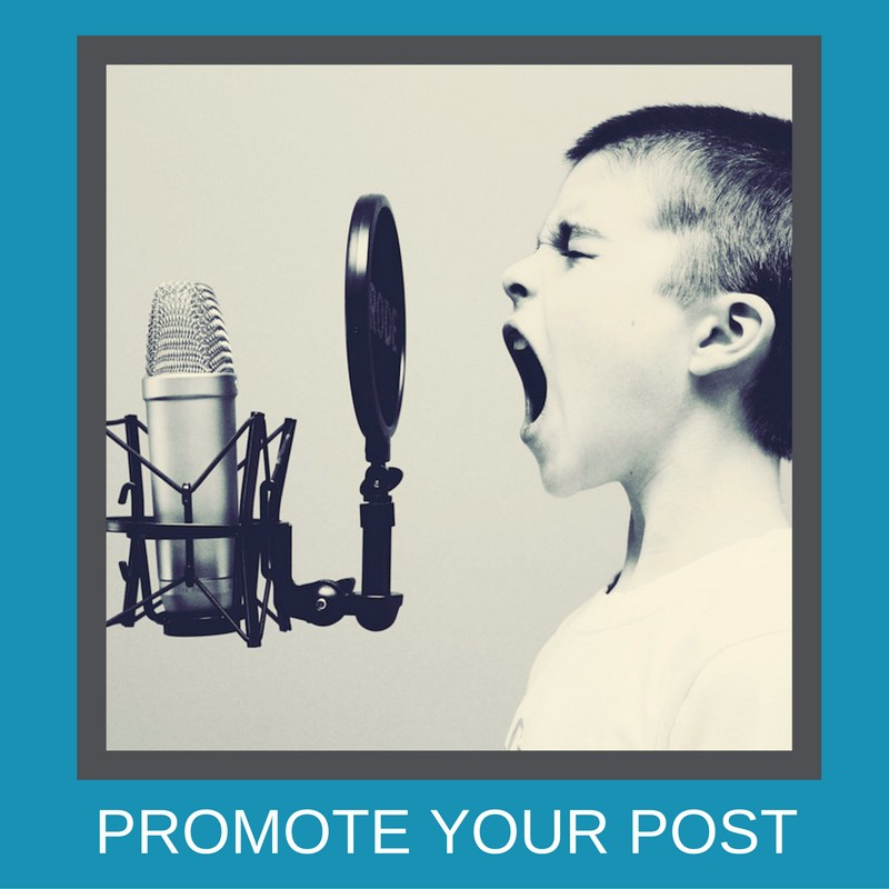 Promote your post