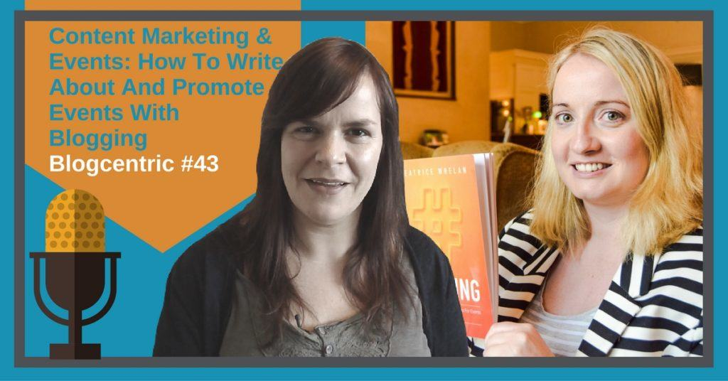 Blogging for events - How to write about and promote events with your blog