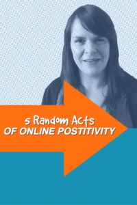 5 Random Acts Of Positivity for Positive Thinking Day