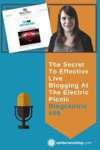 How to plan and implement a live blog