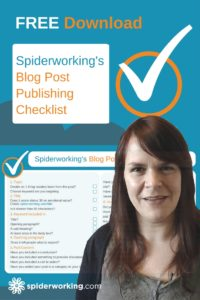 Download Your Free Blog Post Publishing Checklist