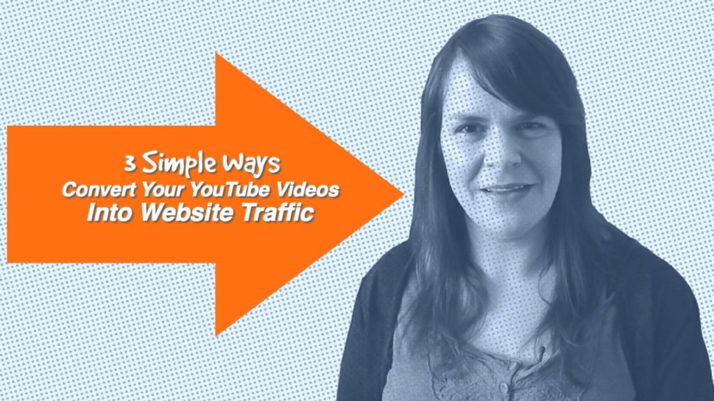 3 Simple Ways to Convert Your YouTube Videos Into Website Traffic – 1 Minute Moment #66