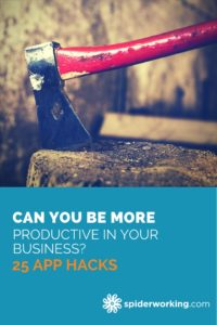 The Tools Of Productivity - 25 Hacks To Make Your Business Run Smoothly