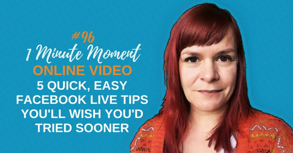 5 Quick And Easy Facebook Live Tips That You'll Wish You'd Tried Sooner