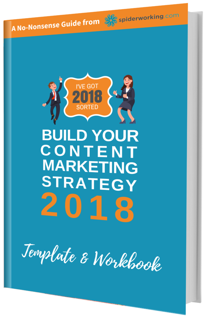 content strategy template eworkbook 2018