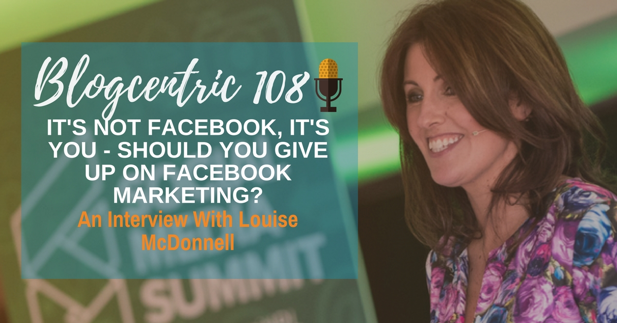 Louise McDonnell Facebook Marketing