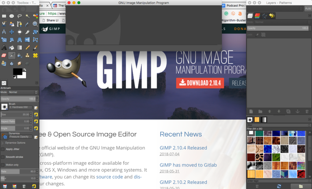 GIMP is a good, free alternative to PhotoShop