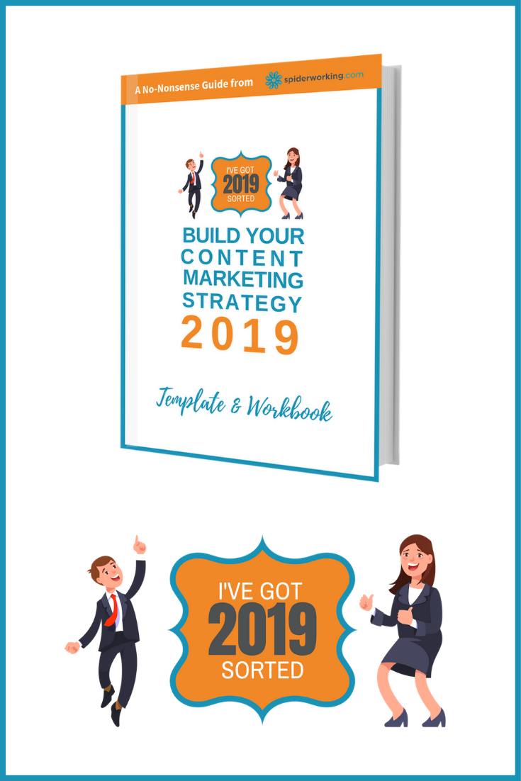 Keep the content gremlins at bay in 2019. Build your content strategy now with this simple printable template and workbook. #socialmediastrategy #digitalmarketingstrategy #contentmarketingstrategy #strategy2019 #socialmediastrategytemplate