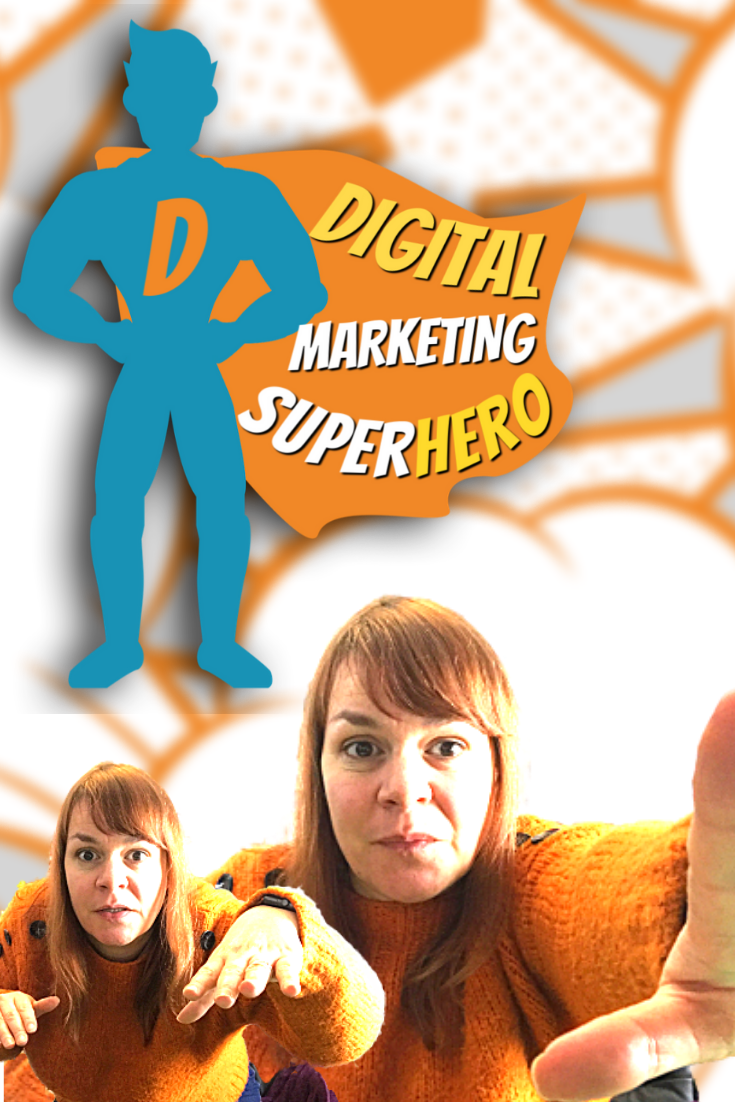 Join The Digital Marketing Superheroes Club for Small Business Owners & Social Media Managers